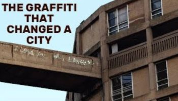 How A Piece Of Graffiti Transformed A City
