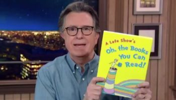 Stephen Colbert Dunks On Donald Trump Jr.'s Dr. Seuss Freak Out: 'Dr. Seuss Books Should Be Fun For All People'