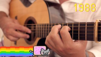 Musician Plays An Unreal 10,000 Harmonics On His Guitar In 14 Minutes