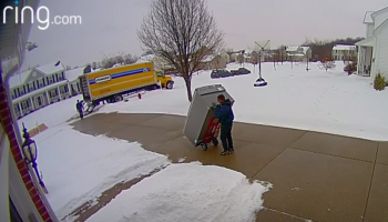 They Waited Three Months For Their New Fridge To Be Delivered. The Delivery, Um, Didn't End Well