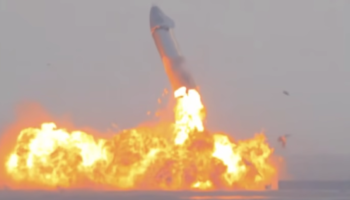 Watch SpaceX's Starship Rocket — Which Stuck A Perfect Landing Wednesday —Randomly Blow Up...