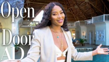Naomi Campbell Gave A Tour Of Her Luxury Villa In Kenya, And It's Ridiculously Extravagant