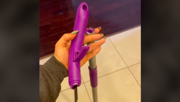 Woman's Broken Swiffer Handle Gets Comically Mistaken For A NSFW Object