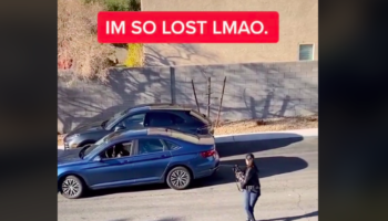 This Video Of A Driver Struggling To Parallel Park Has One Heck Of An Ending