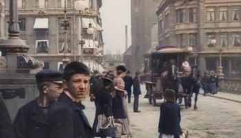Someone Used Neural Networks To Upscale Footage Of Denmark From 1902 And It's Like Stepping Out Of A Time...