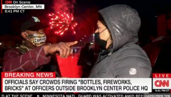 CNN's Sara Sidner Has Tense Confrontation With Minnesota Protester On Live TV
