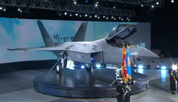 South Korea Just Unveiled Its New Fighter Jet. It Looks Awfully Familiar