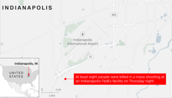 8 People Killed In Shooting At A Fedex Facility In Indianapolis, Police Say