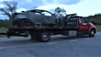 Woman Bursts Into Flames After Rolling Car Full Of Hoarded Gas