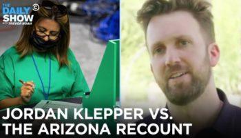 Jordan Klepper Goes Inside The Bizarre Cyber Ninja 2020 Election 'Audit' In Arizona And Cannot Believe It's...