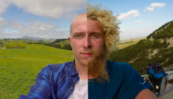 Man Takes A Picture Every Day As He Cycles Around The World For A Year. Here Is A Time Lapse Of How Much...