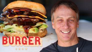 Tony Hawk Tries Out Los Angeles's Best Kept Burger Secret