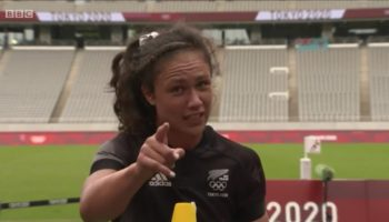 Watch New Zealand Rugby Player Ruby Tui Give The 'Best Interview Ever' After Defeating Russia At The Tokyo...