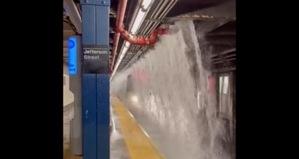 Ida Caused Major Flooding In New York And New Jersey Last Night. Here Are The Most Unreal Videos We've Seen