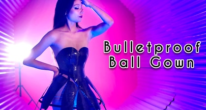 Watch This Woman Build A Badass Bulletproof Ball Gown Out Of Kevlar And Carbon Fiber