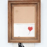 Banksy's Shredded Painting Is On Sale Again, And It May Be Worth Six Times As Much