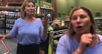 The Woman Who Went Viral For Intentionally Coughing On Shoppers Is From Scottsdale