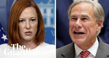 Jen Psaki Dunks On Texas Governor Greg Abbott's Pledge To 'Eliminate' Rape