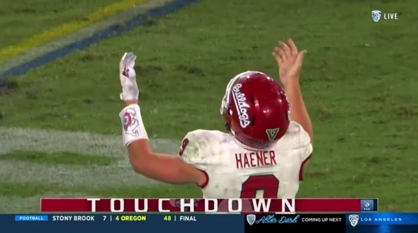 Watch How Fresno State Quarterback Jake Haener Overcame Injury To Shock UCLA With Less Than A Minute Remaining