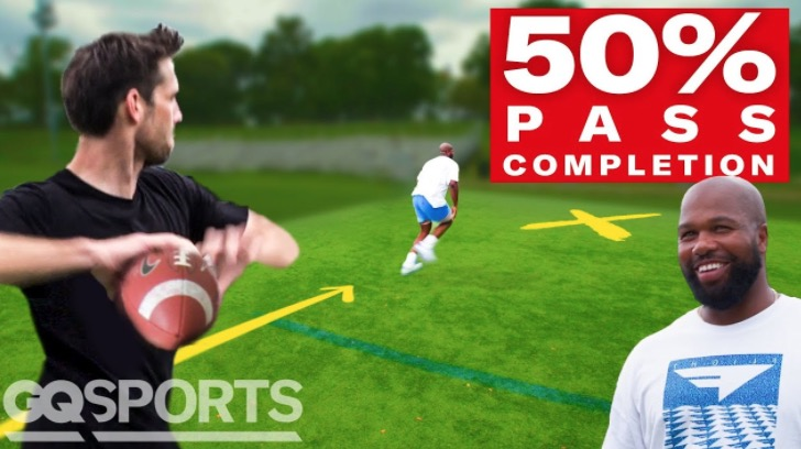 Can An Average Dude Throw A 50 Percent NFL Pass Completion?