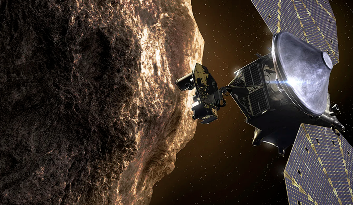 NASA Is Sending A Spacecraft On A Twelve-Year Journey To Explore Swarms Of Asteroids Around Jupiter