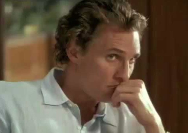 We Can't Believe This Matthew McConaughey Romantic Comedy With A, Er, Twist Is A Real Movie