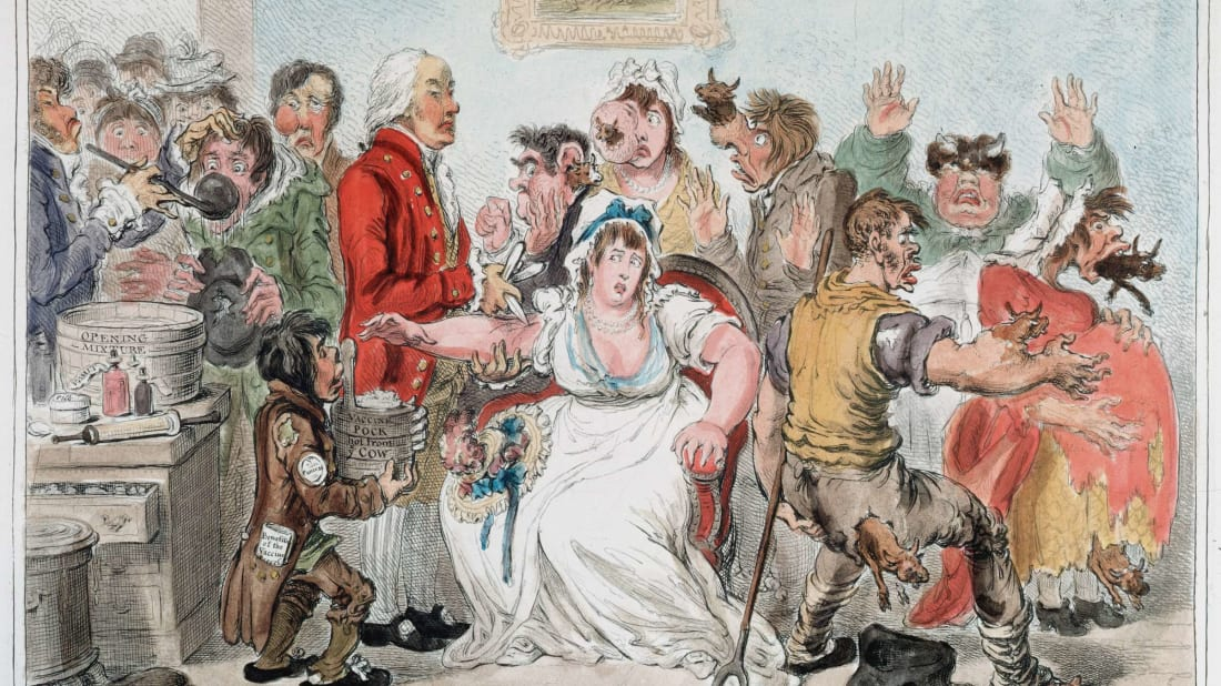 Eight Of History's Most Misguided Anti-Vaxxers
