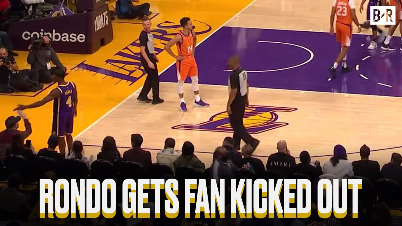 The Lakers' Only Victory This Season Came From When They Successfully Kicked This Fan Out Of The Front Row
